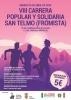 SUSPENDIDA VIII CARRERA POPULAR Y SOLIDARIA SAN TELMO 2020